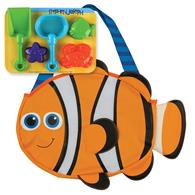 BEACH TOTES (w/sand toy play set) CLOWNFISH