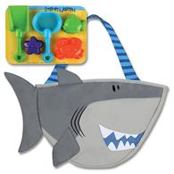 Toddler beach tote | Shark beach tote for pre-schoolers
