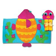 Hooded towels for toddlers | Fish hooded towel