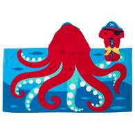 HOODED TOWELS OCTOPUS (S20)