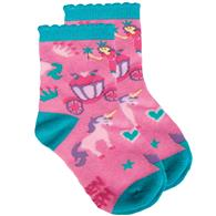 TODDLER SOCKS  PRINCESS MEDIUM (S17)