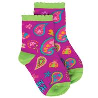 TODDLER SOCKS PAISLEY MEDIUM (S17)
