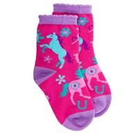 ALL OVER PRINT SOCKS HORSE LARGE (F17)