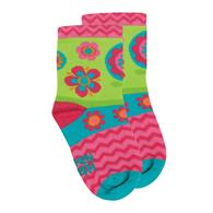 SOCKS  FLOWER MEDIUM (S16)