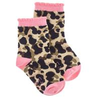 TODDLER SOCKS LEOPARD SMALL(F20)