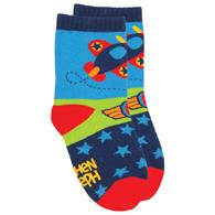 TODDLER SOCKS  AIRPLANE SMALL (S16)