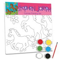 CRAFT CANVAS SET  GIRL HORSE (S13)