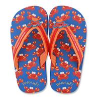 Flip flops for toddlers | Large crab flip flops for children