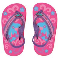 TODDLER FLIP FLOPS  DOLPHIN SMALL (S16)