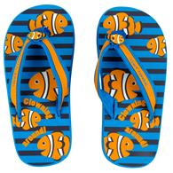 TODDLER FLIP FLOPS CLOWNFISH LARGE  (S16)
