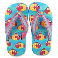 Flip flops for toddlers | Large fish flip flops for children