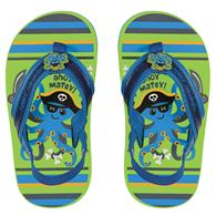 TODDLER FLIP FLOPS  OCTOPUS/PIRATE SMALL (S16)