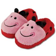 Silly slippers for kids | Large ladybug silly slippers