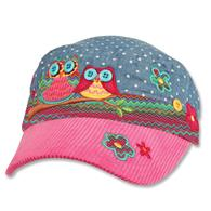 Signature cap for toddlers | Kids teal owl signature cap