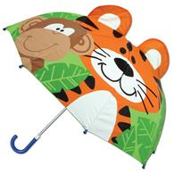 3-D umbrellas for kids | Zoo pop up umbrella