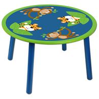 Critter tables for preschoolers | Monkey critter table for kids