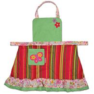Signature apron for children | Kids signature butterfly apron