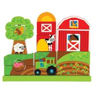 WOODEN  FARM STACKER (F15)