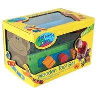 Wooden Toy Tool Set for Preschoolers | Children