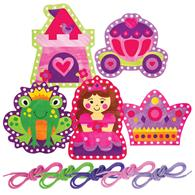 LACING CARDS PRINCESS/CASTLE (F15)