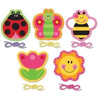 Lacing Card Set for toddlers | Garden Lacing Card Set