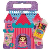 SHAPED SKETCH PAD PRINCESS/CASTLE (S16)
