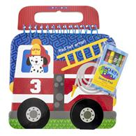 SHAPED SKETCH PAD FIRETRUCK (S19)
