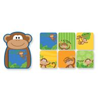 Sweet notes for children | Monkey magnetic note