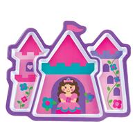 MELAMINE TRAY PRINCESS/CASTLE (F16)
