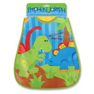 Wipeable bibs for toddlers | Dino wipeable bib for infants