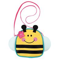 Preschooler crossbody purse | Bee crossbody purse for toddlers