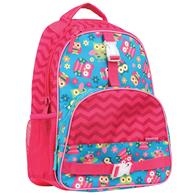 ALL OVER PRINT BACKPACK OWL (F16)
