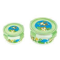 NESTED SNACK CONTAINERS ZOO (F16)