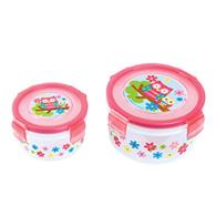 NESTED SNACK CONTAINERS OWL (F16)