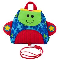 LITTLE BUDDY BAG WITH SAFETY HARNESS AIRPLANE (F17)