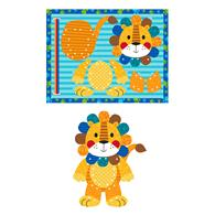 LACING PUZZLE LION (F17)