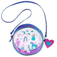 CLEAR/IRIDESCENT CROSSBODY PURSE PRINCESS (S18)