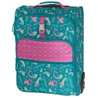 ALL OVER PRINT ROLLING LUGGAGE MERMAID (F18)
