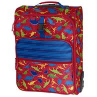ALL OVER PRINT ROLLING LUGGAGE DINO