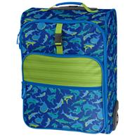 ALL OVER PRINT ROLLING LUGGAGE SHARK (F18)
