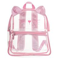 CLEAR BACKPACK CAT (F19)