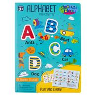 ALPHABET CLING PLAYBOARDS BOY (S19)