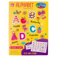 ALPHABET CLING PLAYBOARDS GIRL (S19)