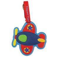 Luggage tag for kids | Airplane luggage tag for preschoolers