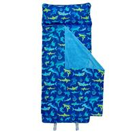 ALL-OVER PRINT NAP MAT SHARK (S17)