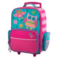 CLASSIC ROLLING LUGGAGE TWO OWLS