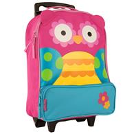 CHARACTER ROLLING LUGGAGE  OWL  (S16)