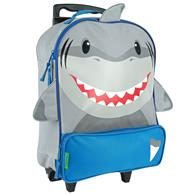 CHARACTER ROLLING LUGGAGE  SHARK  (S16)