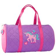 QUILTED DUFFLE  UNICORN (S18)