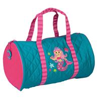 QUILTED DUFFLE  MERMAID (S17)